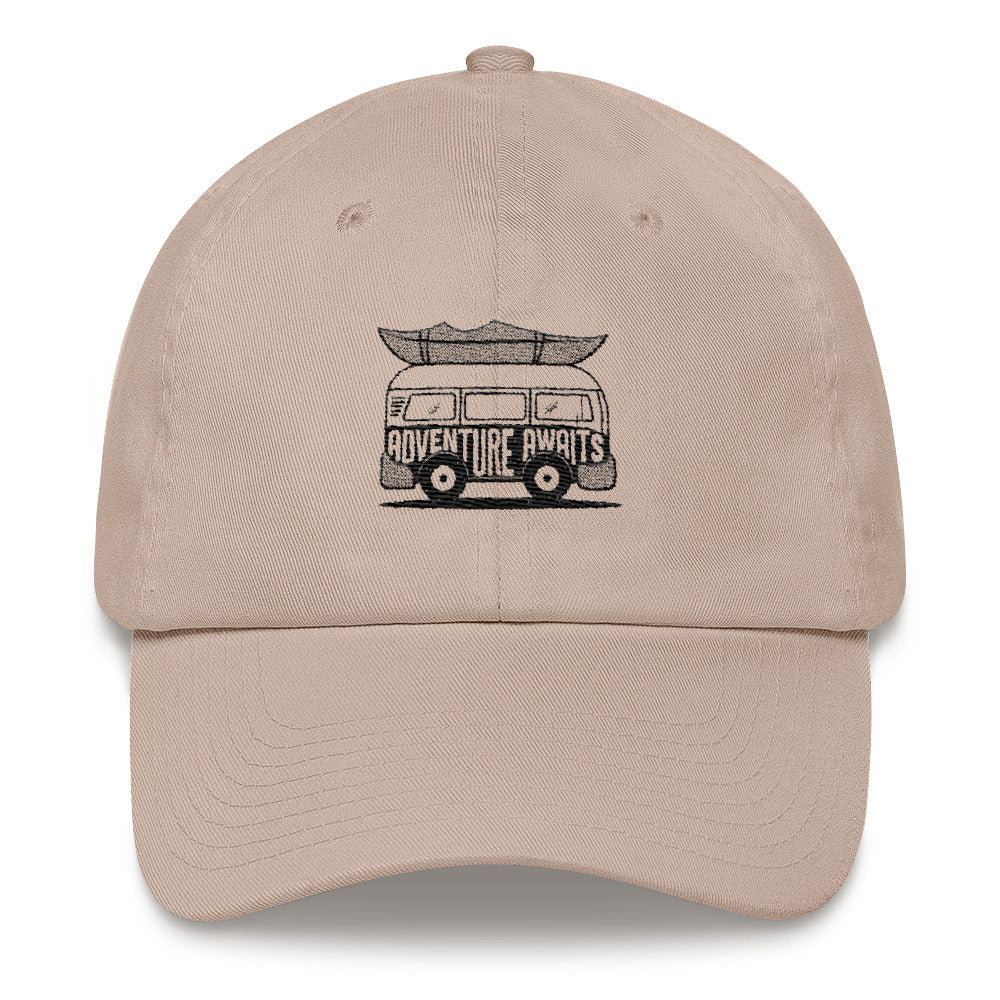 Adventure Awaits Dad hat (Adult) - The Rollie Pollie