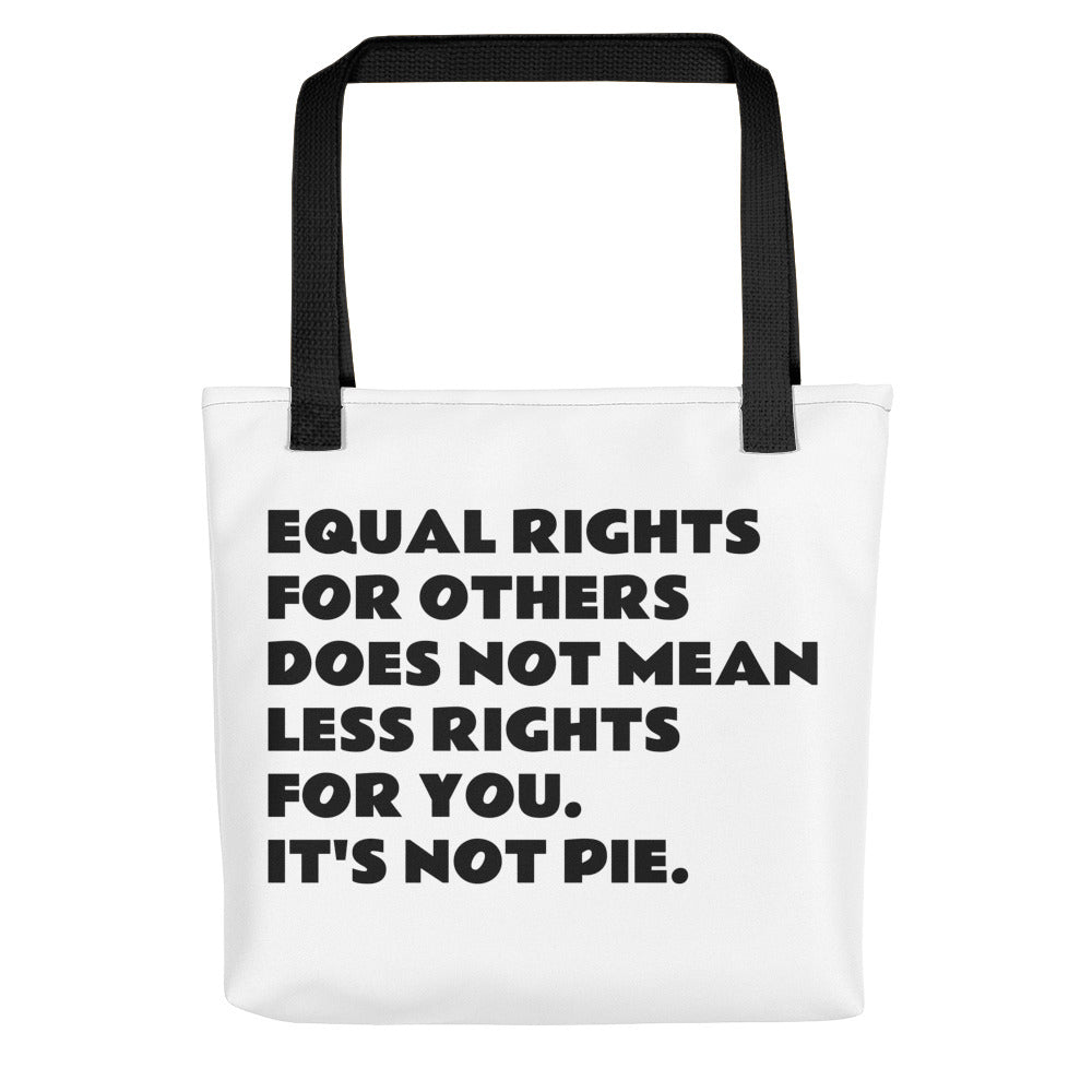 Equal Rights Tote bag - The Rollie Pollie