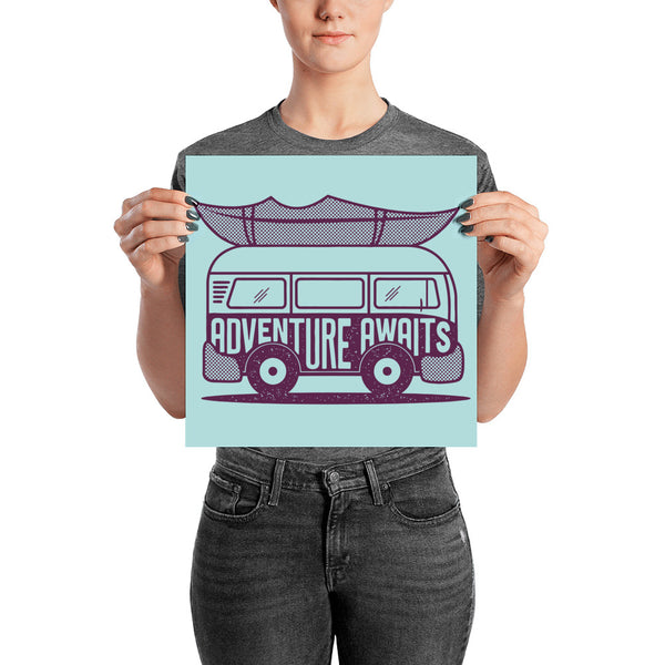 Adventure Awaits Poster - The Rollie Pollie