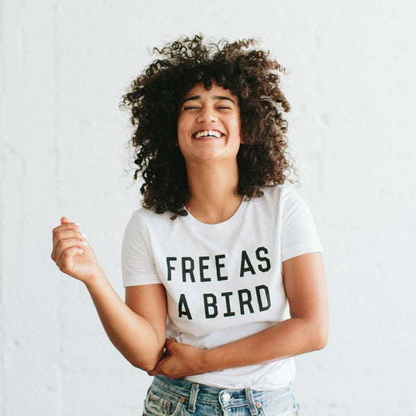 Free As A Bird T-shirts - The Rollie Pollie