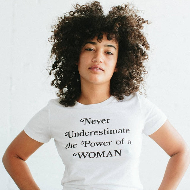 Power of Woman T-Shirt - The Rollie Pollie