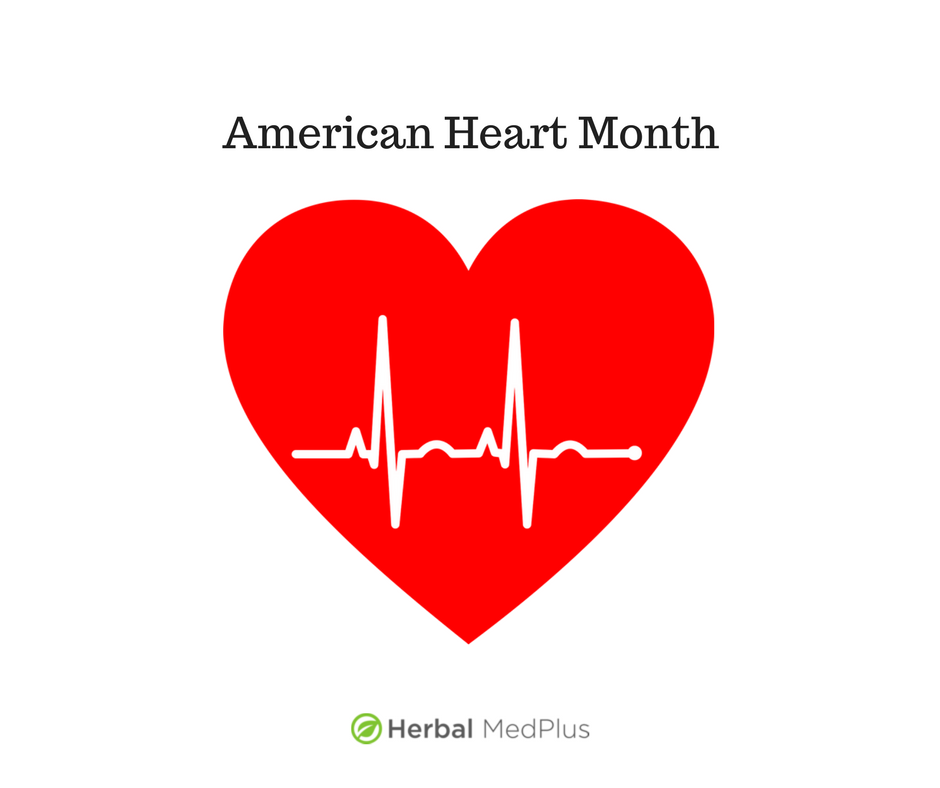American Heart Month image. Take care of your heart