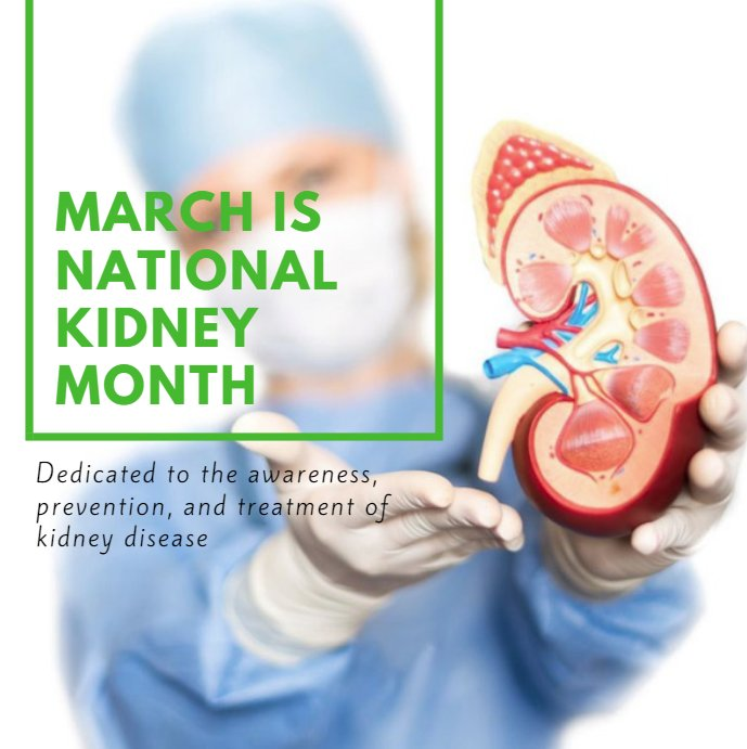 March is National Kidney Month. Herbal Med Plus