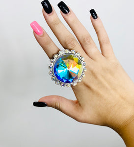 Big Bertha Bling Adjustable Ring