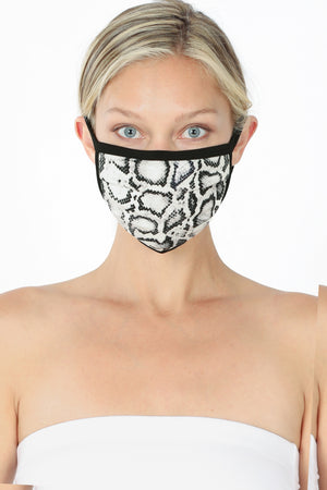 Snake Skin Facial Covering