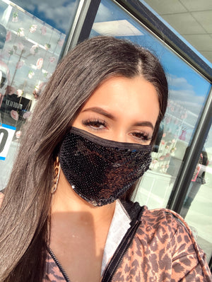 Bling Girl Facial Covering