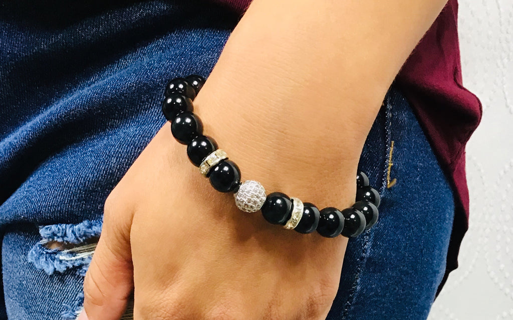 Black Onyx New You Bracelet