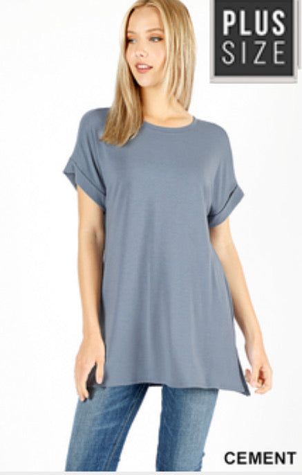 Essential Slate Blue Blouse