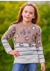 #NOFILTER KIDS All the Stripes & Spots Sweater