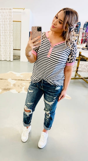 Stylin In Stripes Top