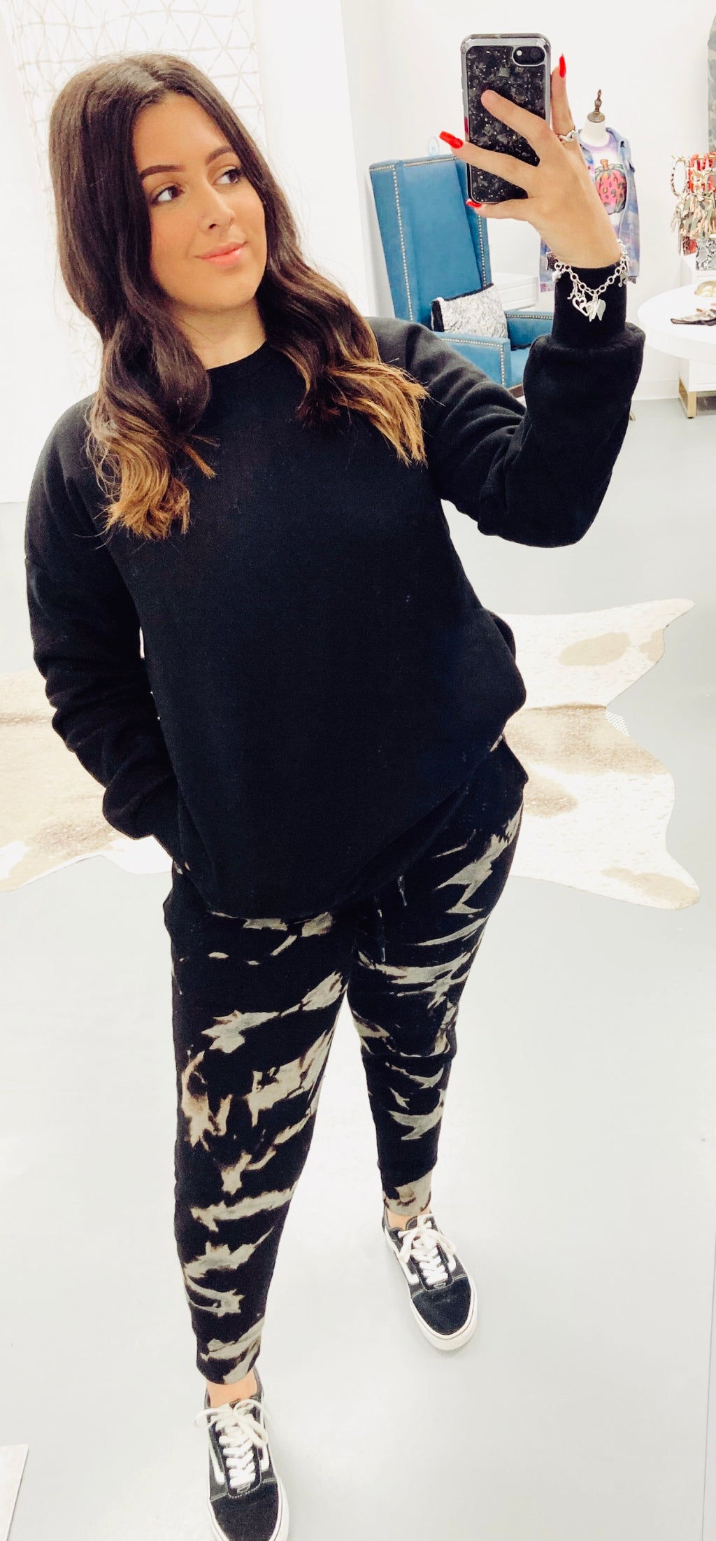 Rebel With A Cause Jogger Set