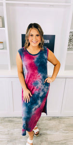 Mystic Tie Dye Dress