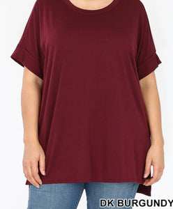 Essential Burgundy Blouse