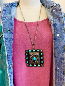 Miss Texas Turquoise Necklace