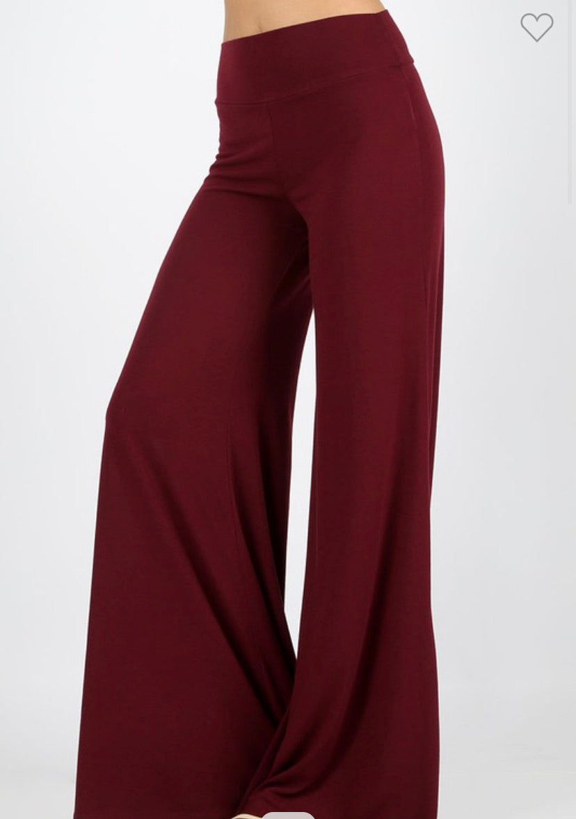 Palazzo Pants-2 color options