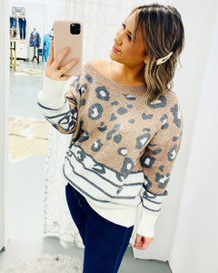 All The Stripes & Spots Sweater