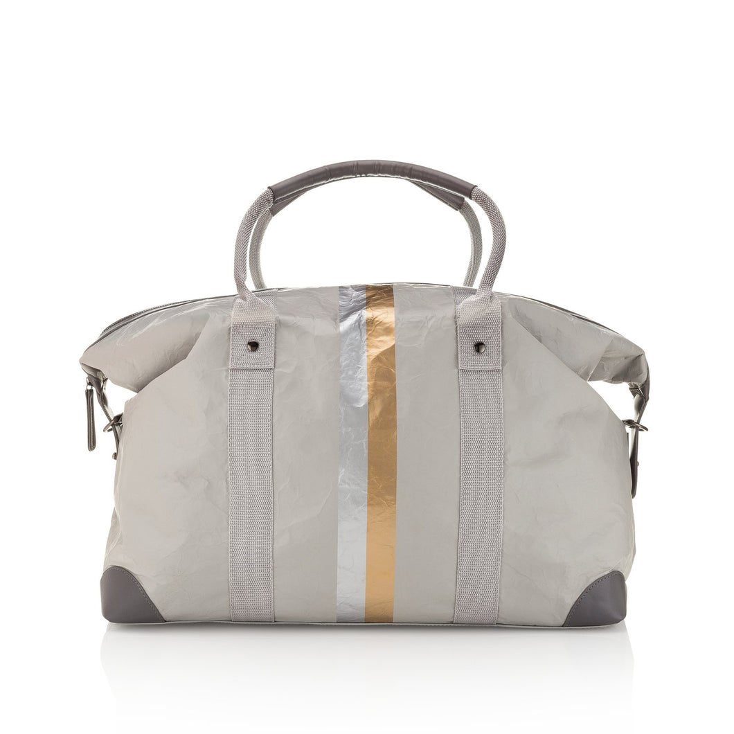Hi Love The Weekender - Grey with Metallic, - Funky Collective