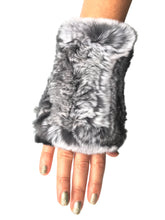 Fingerless Fur Gloves, - Funky Collective