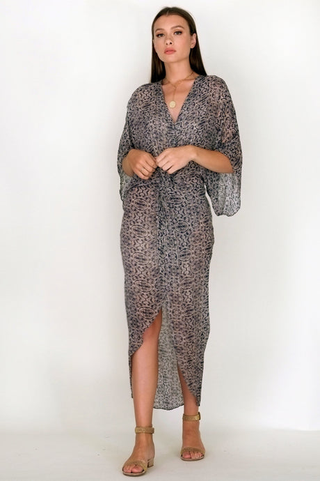 Muche et Muchette Medallion Long Cover Up Dress, - Funky Collective