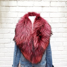 Genuine Fur Clip-On Collar, - Funky Collective