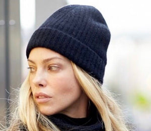 Funky Collective Ribbed Cashmere Hat