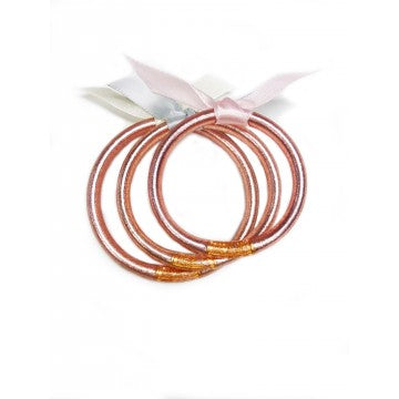 BUDHAGIRL Baby Bangles - Rose Gold, - Funky Collective