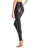 Commando - Perfect Control Faux Leather Legging Black, - Funky Collective