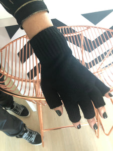 Cashmere Blend Fingerless Glove, - Funky Collective