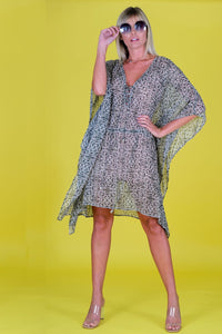 Muche et Muchette Medallion Cover Up Poncho, - Funky Collective