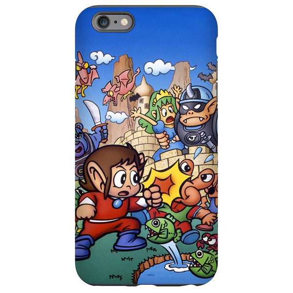 Alex Kidd in Miracle World Phone Case