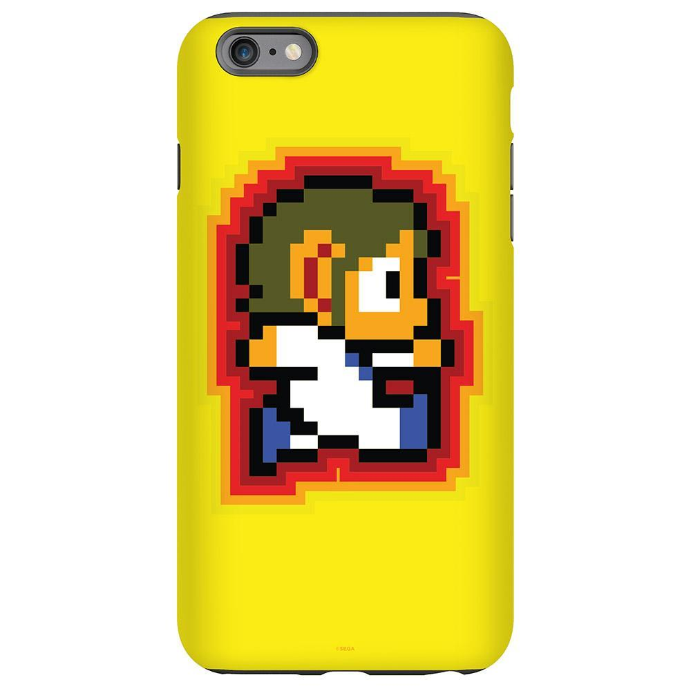 Alex Kidd Pixelated Yellow Phone Case
