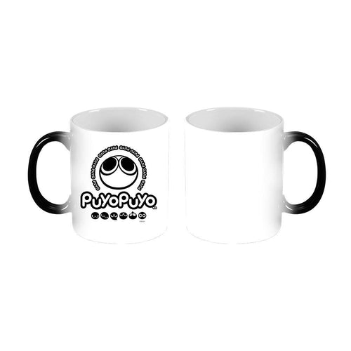 Puyo Puyo White & Black Transforming Mug