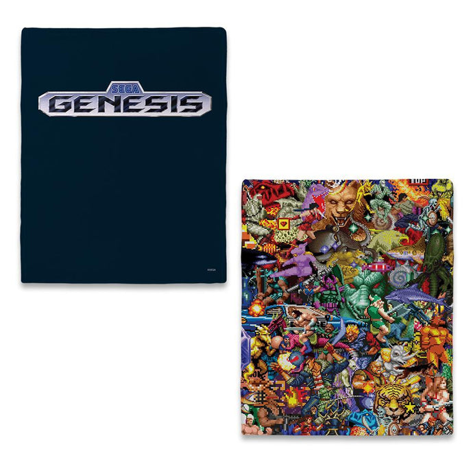 SEGA Genesis Collage Blanket
