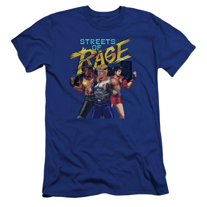 Streets of Rage Character Blue T-Shirt