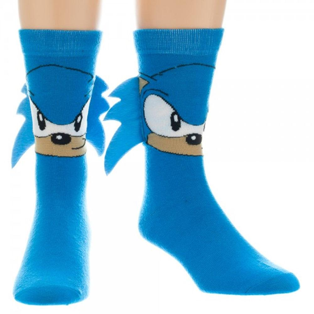 Sonic the Hedgehog Crew Socks with Quills