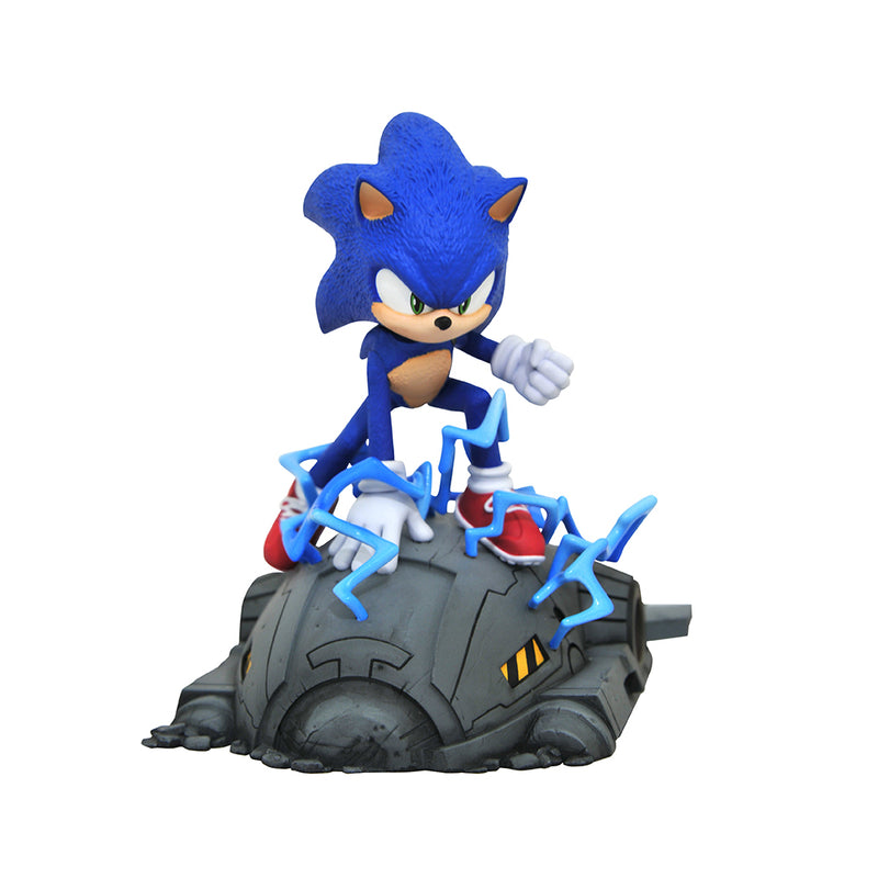 Sonic The Hedgehog Movie Sonic 1 6 Scale Statue Sega Shop