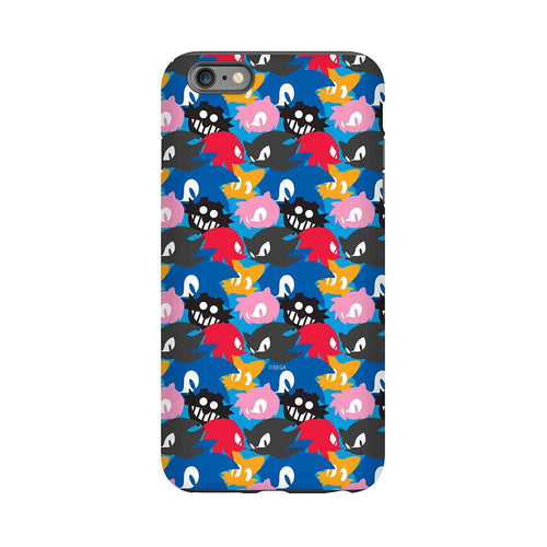 Sonic the Hedgehog Character Faces Phone Case