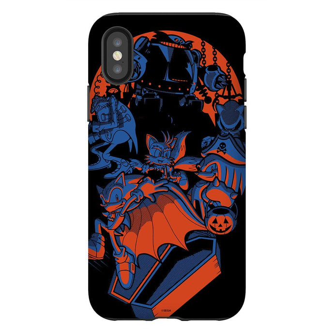 Sonic the Hedgehog Halloween Coffin Phone Case