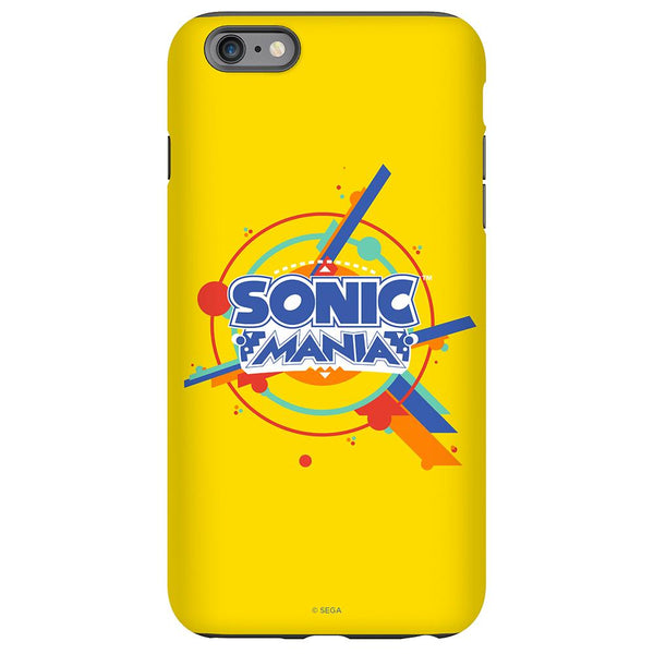 Sonic Mania Logo Yellow Phone Case