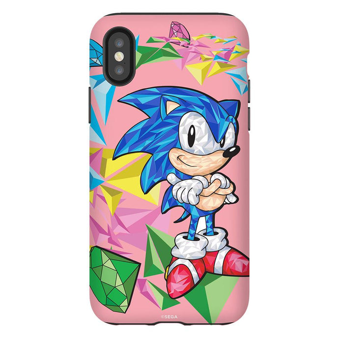 Sonic the Hedgehog Color Shocked Sonic Jewel Blast Phone Case