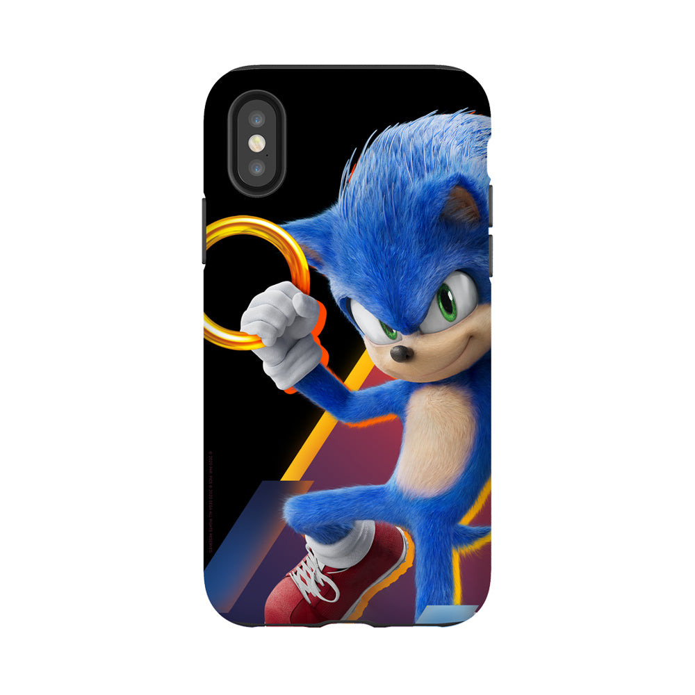 Sonic The Hedgehog Movie Gold Ring Phone Case Sega Shop
