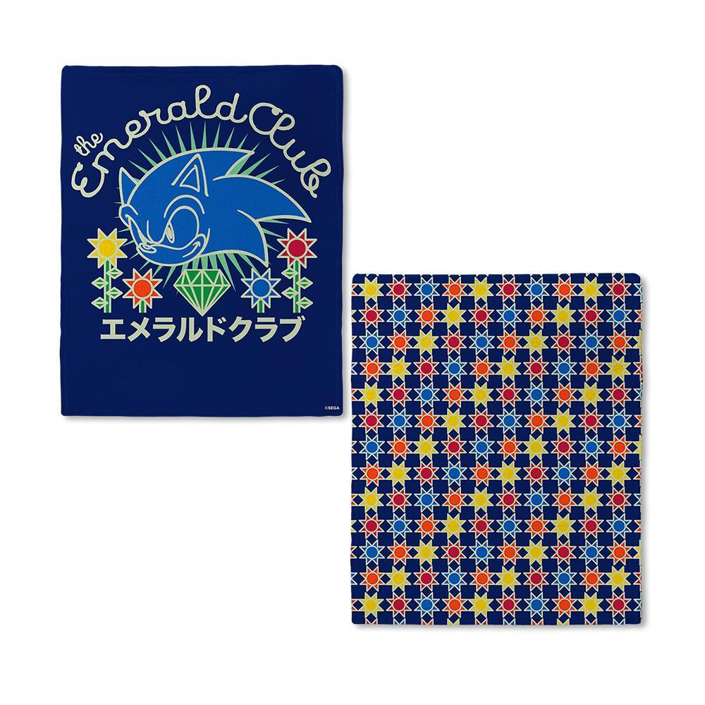 Sonic The Hedgehog Patchwork Emerald Club Blanket