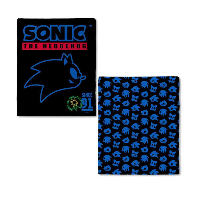 Sonic The Hedgehog Patchwork Green Zone Blanket