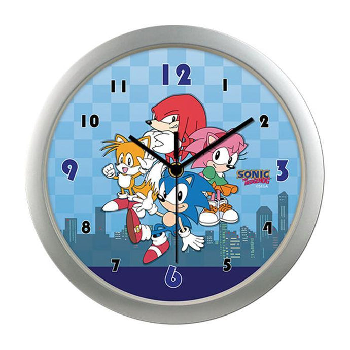 Sonic Classic Main Group with City Wall Clock