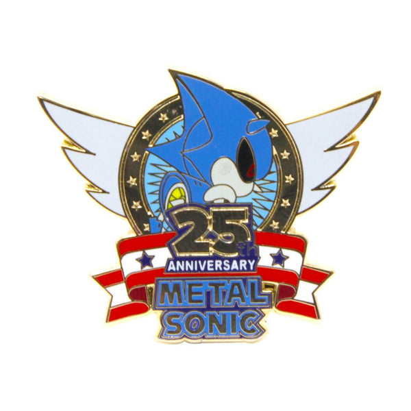 Metal Sonic 25th Anniversary Pin