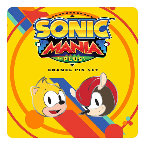 Sonic Mania Plus Mighty & Ray Pin Set