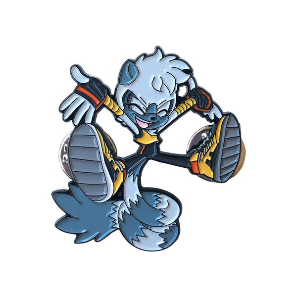 Sonic the Hedgehog SDCC Tangle Enamel Pin