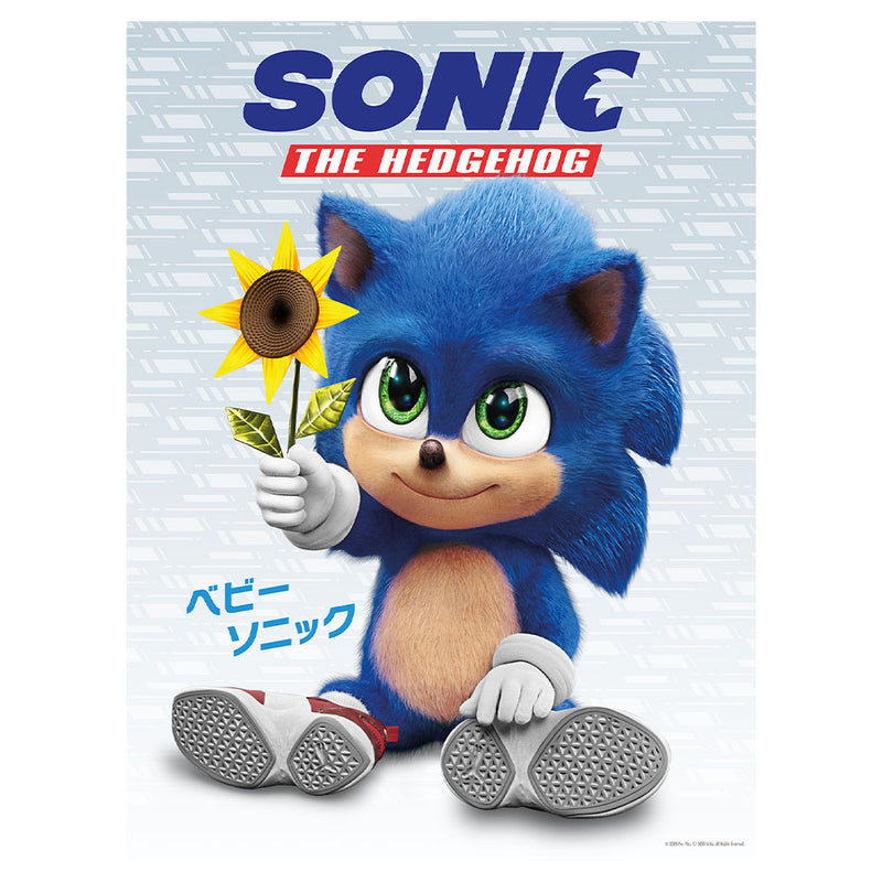 Sonic The Hedgehog Movie Baby Sonic Poster Sega Shop