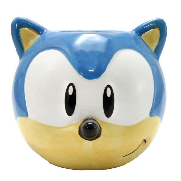 Sonic the Hedgehog Molded Ceramic Coffee Mug