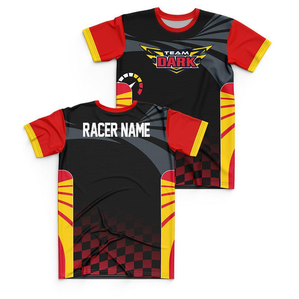 Team Sonic Racing Team Dark Personalized Jersey Style T-Shirt